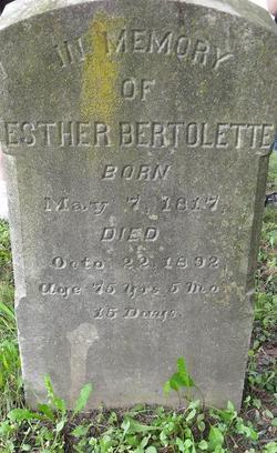 Esther Bertolette