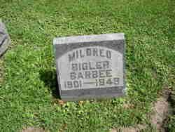 Mildred <i>Bigler</i> Barbee