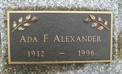 Ada F. Alexander
