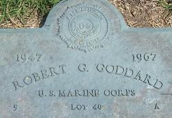 LCpl Robert Gordon Goddard