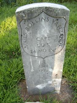 Capt James Rollins Vanzandt
