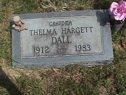Thelma <i>Hargett</i> Dall