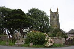 Breage Churchyard
