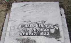 Lieut William Michael Henderson