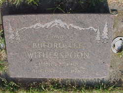 Buford Lee Witherspoon