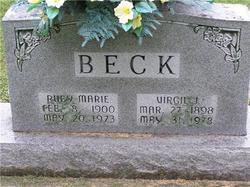 Ruby Marie <i>Cree</i> Beck