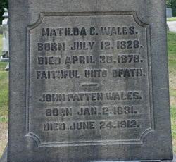 John Patten Wales