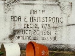 Ada E <i>Ferguson</i> Armstrong