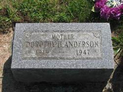 Dorothy Helen <i>Kishpaugh</i> Anderson