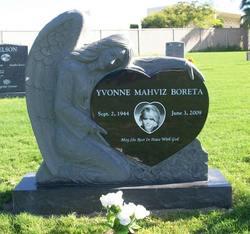 Yvonne <i>Mahviz</i> Boreta