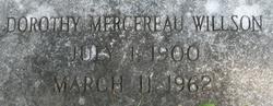 Dorothy Mercereau Willson