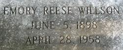 Emory Reese Willson
