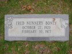 Fred Nunnery Boney