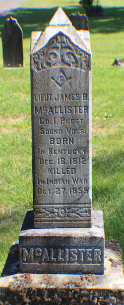 Lieut James Benton McAllister