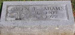 Galen E. <i>Merritt</i> Adams