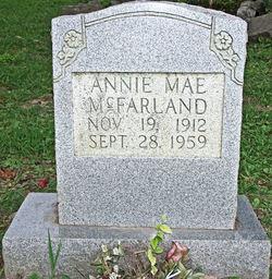 Annie Mae McFarland