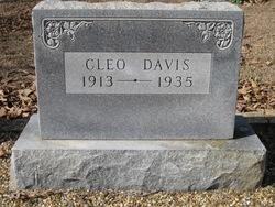 Cleo <i>Wilson</i> Davis