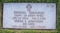 Freda L Johnson