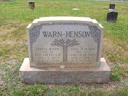Jane A. <i>Warn</i> Henson