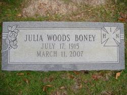 Julia Woods Boney