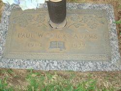 Paul Winfred Dick Adams