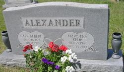 Mary Lee <i>Kemp</i> Alexander