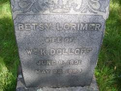 Betsey L. <i>Lorimer</i> Dolloff