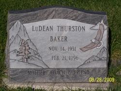LuDean <i>Thurston</i> Baker