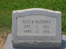 Alta M Bateman
