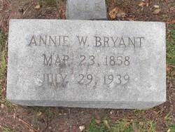 Martha Annie Annie <i>Whitehead</i> Bryant