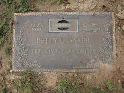 Betty Lou <i>Carter</i> Baker