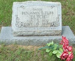 Benjamin Theodore Dutch Tubb
