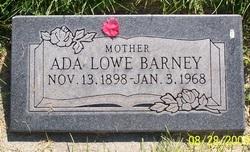 Ada <i>Lowe</i> Barney