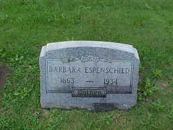 Barbara <i>Becker</i> Espenschied