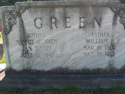 Nannie <i>Hennen</i> Green