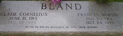 Frances <i>Martin</i> Bland