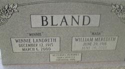 William Meredith Bland