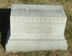 Carrie Marcia <i>Brown</i> Cassell