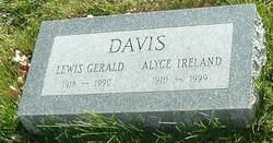 Alyce <i>Ireland</i> Davis
