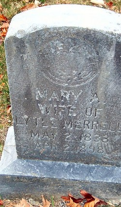 Mary J. <i>Williams</i> Merrell