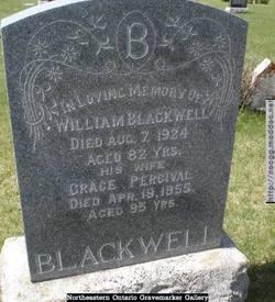 Grace Younge <i>Percival</i> Blackwell