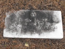 Pvt James M Ivy