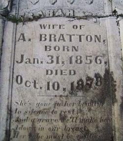 Sarah F. <i>Lowe</i> Bratton