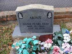 Annie Pearl <i>Reid</i> Akins