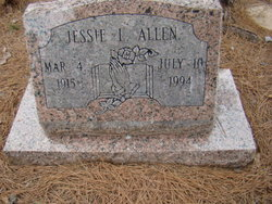 Jessie L Allen