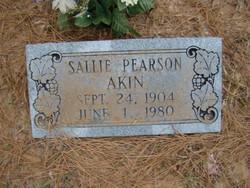 Sallie <i>Pearson</i> Akin