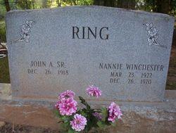 Nannie <i>Winchester</i> Ring