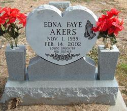 Edna Faye <i>Townley</i> Akers
