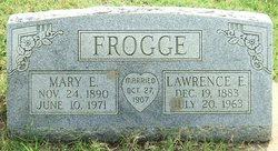 Mary Ellen <i>Thomas</i> Frogge