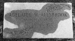 Adelaide M. Allsbrook
